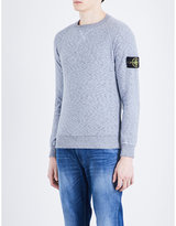Stone Island Rasato Knitted Cotton-blend Jumper