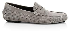 To Boot Men's Pace Perforated Suede Driving Loafers