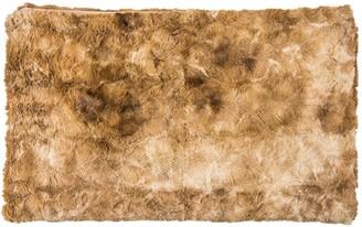 Luxe Faux Fur Naples Multi-Tone Faux Fur Throw