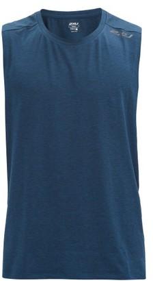 2XU Xctrl Stretch-jersey Performance Tank Top - Blue Multi