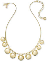 Kate Spade Ring It Up Gold-Tone Bubble Collar Necklace