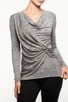 Alison Sheri Silver Grey Top