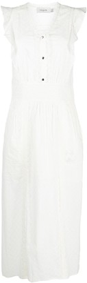 Coach Broderie Anglaise maxi dress