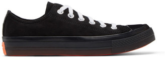 Converse Black Suede All Star CX OX Sneakers