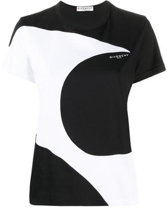 Givenchy abstract print T-shirt