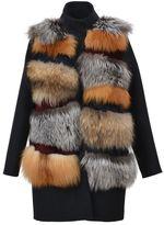 S.W.O.R.D. Fur-trimmed Coat