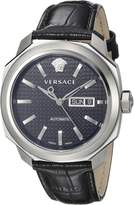 Versace Men's VQI010015 Dylos Day Analog Display Swiss Automatic Watch