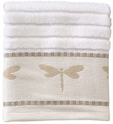 Creative Bath Products Dragonfly Jacquard Wash Cloth