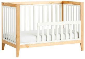 Pottery Barn Kids Tatum Toddler Bed Conversion Kit, Blonde & Simply White