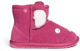Emu 'Rabbit Mini' suede kids boots