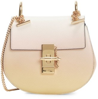 Chloé Mini Drew Leather Saddle Bag