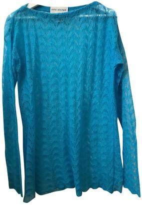 Anna Molinari Turquoise Wool Knitwear for Women