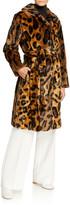 Stand Irina Leo Faux Fur Coat