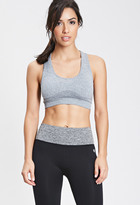 Forever 21 Low Impact - Heathered Seamless Sports Bra