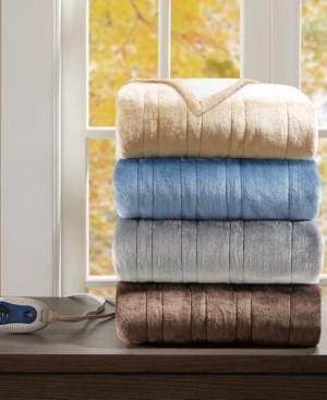 "Simmons Electric Snuggle 50"" x 64"" Plush Wrap Bedding"