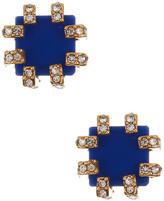 Trina Turk Stud Pave Detail Earrings