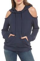 Splendid Women's Cold Shoulder Hoodie