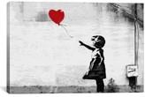 iCanvas 'Girl With Balloon' Giclee Print Canvas Art