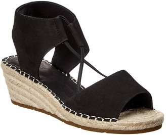 Eileen Fisher Agnes Suede Espadrille Wedge Sandal