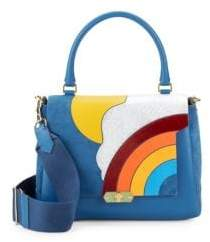 Anya Hindmarch Bathurst Leather Crossbody Bag
