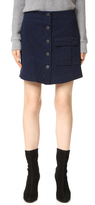 3x1 WS Safari Button Front Skirt