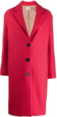 Semi-Couture Semicouture single-breasted fitted coat