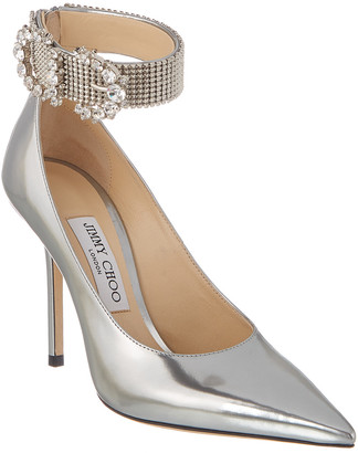 Jimmy Choo Lithe 100 Leather Pump