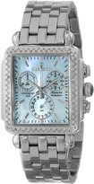 Sartego Women's SDBP397S Diamond Fashion Square Shape Chronograph
