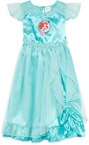 Disney Collection Short-Sleeve Little Mermaid Gown