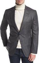 Tom Ford O'Connor Base Plaid Cardigan Jacket