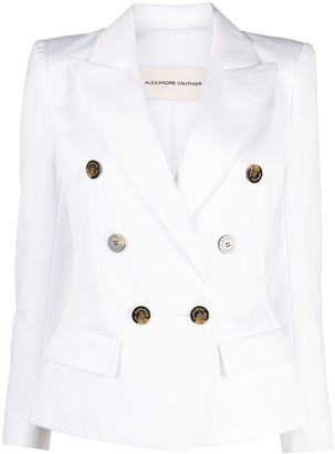 Alexandre Vauthier Double-Breasted Tailored Blazer