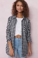 Garage Soft Flannel Boyfriend Shirt