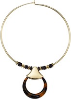 Robert Lee Morris Tortoise Round Wire Necklace