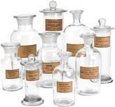 Twos Company Botany Apothecary Jar Set (9 PC)