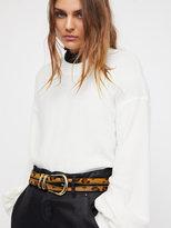 Free People Estelle Embellished Belt
