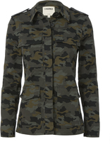 L'Agence Cromwell Military Camo Jacket