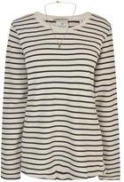 Maison Scotch Striped Sweatshirt