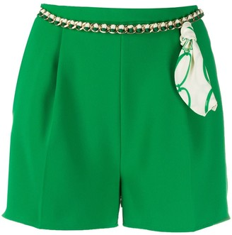 Elisabetta Franchi Belt Detail Shorts