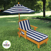Kid Kraft Personalized Chaise with Umbrella