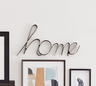 Pottery Barn Iron Home Sign