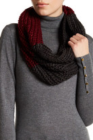 Collection XIIX Colorblock Knit Cowl Neck Scarf