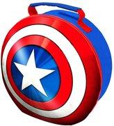 Marvel Avengers Childrens/Kids Official Captain America Shield EVA Lunch Bag