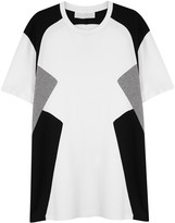 Neil Barrett New Modernist Tri-tone Cotton T-shirt