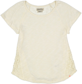 Lucky Brand Vanilla Ice Big Crochet Tee - Girls