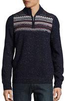 Point Zero Slub Half-Zip Knit Pullover