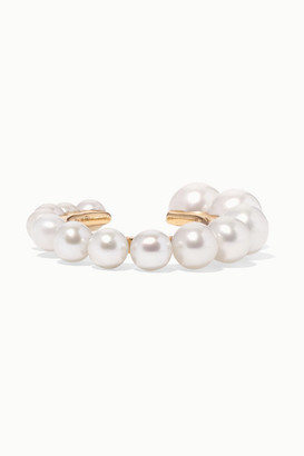 Yvonne Léon 18-karat Gold Pearl Ear Cuff