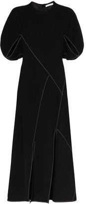REJINA PYO Lucinda panelled maxi dress