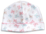 Kissy Kissy Owfully Cute Printed Baby Hat, Pink