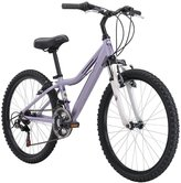 Hard Tail Diamondback 2015 Lustre Complete Girls Hardtail Mountain Bike, Purple - 24""
