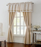 Waterford Britt Metallic Scroll Foulard Window Treatments
